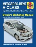 Haynes 6429 Mercedes-Benz A-Class (2012 - 2018) Workshop Manual